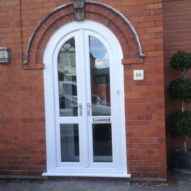 Arched Upvc Door G Amp S Window Systems